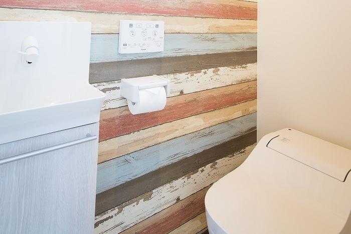 パン屋さんの家のトイレ