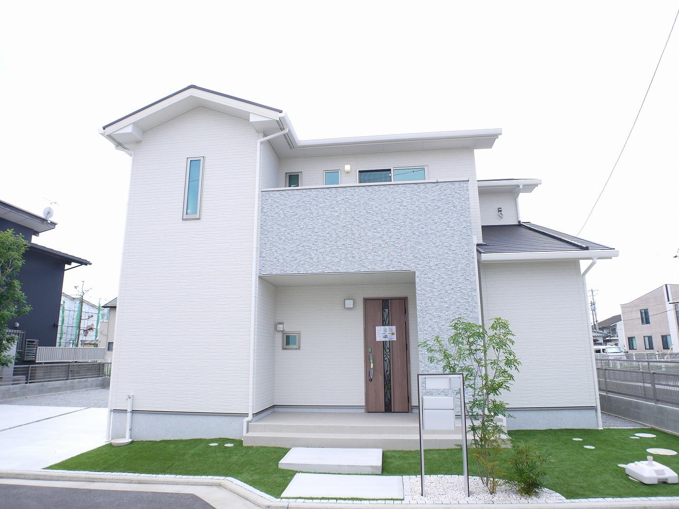 高松市木太町の分譲住宅外観