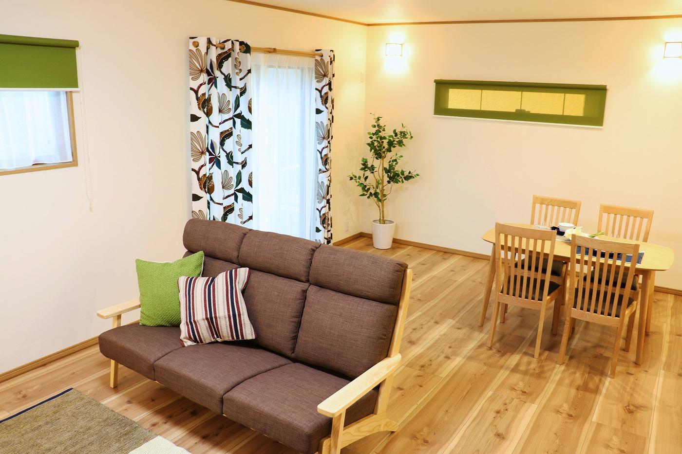 高松市木太町の新築分譲住宅のLDK