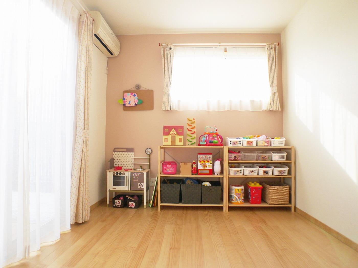 高松市の新築注文住宅の子ども部屋