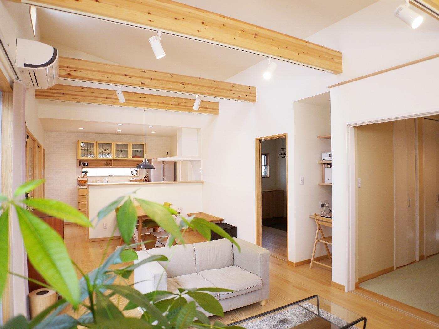 高松市の新築注文住宅のLDK