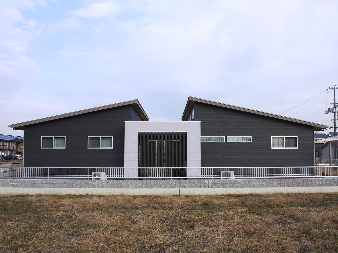 高松市の新築注文住宅の外観