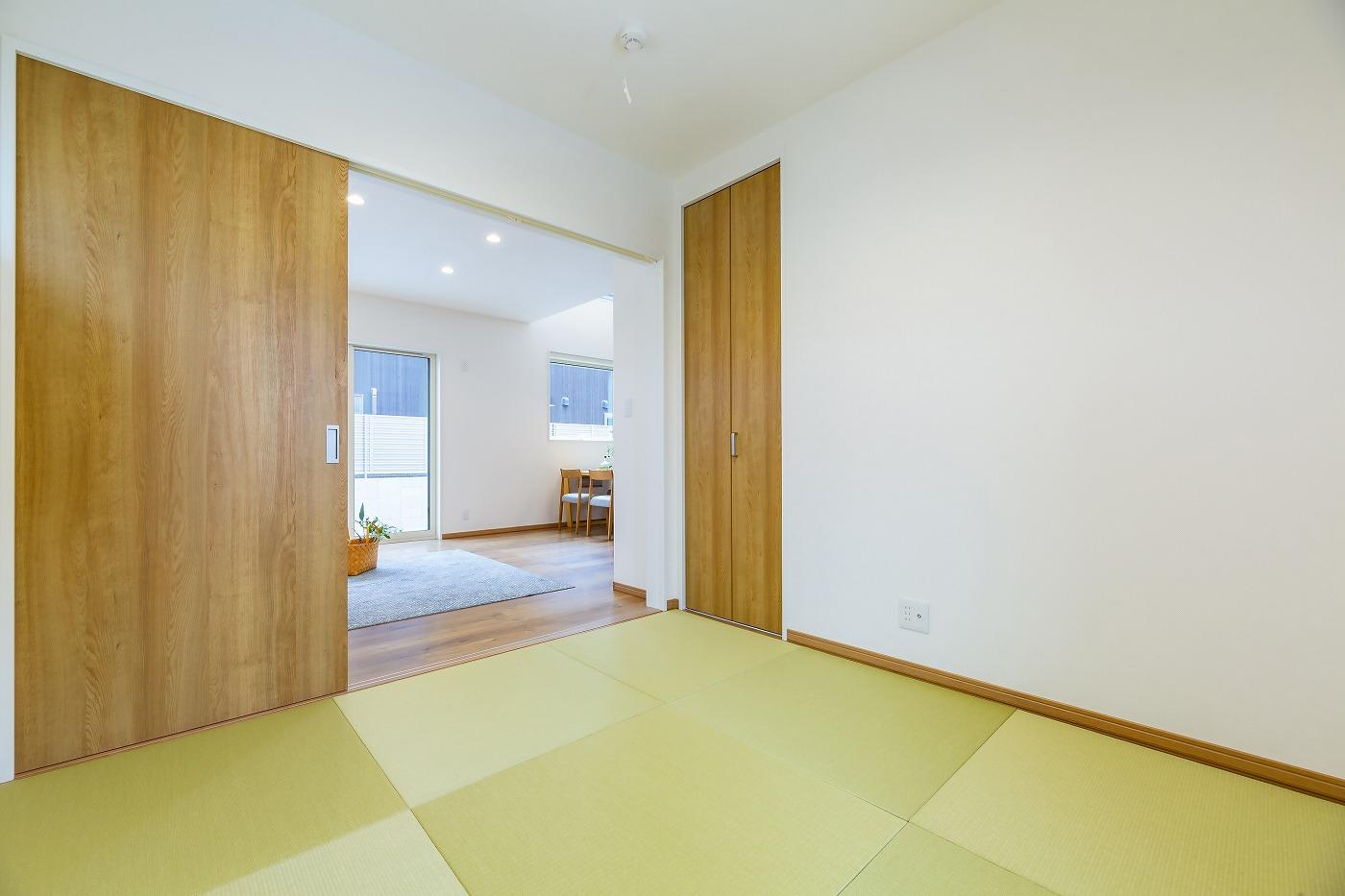 高松市松縄町の新築分譲住宅の和室