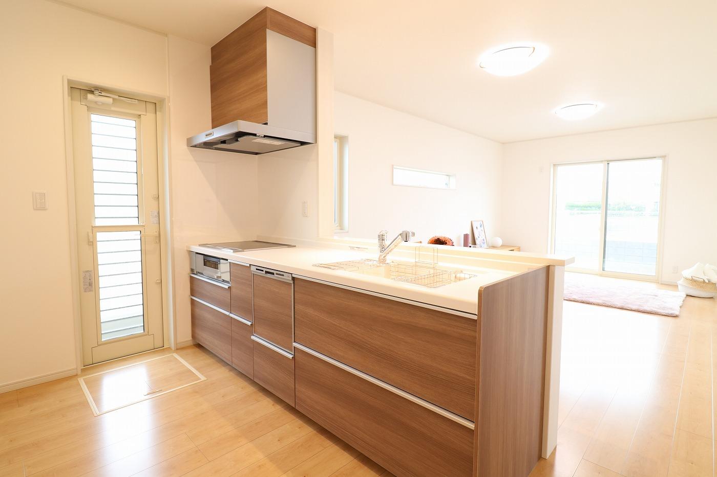 高松市林町の新築建売住宅のキッチン