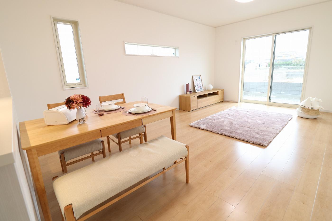 高松市林町の新築建売住宅のLDK