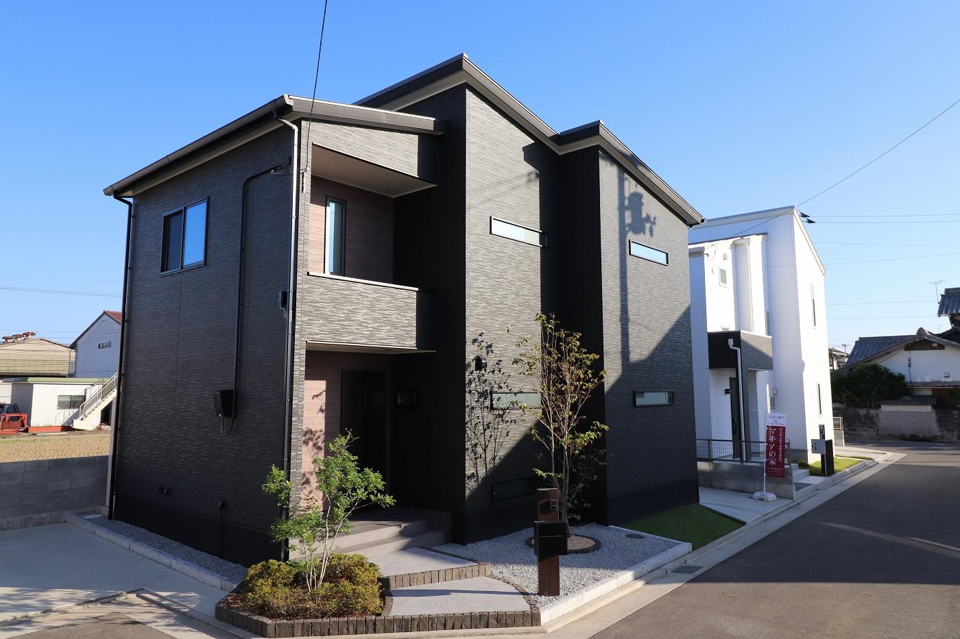 高松市木太町の分譲住宅の外観