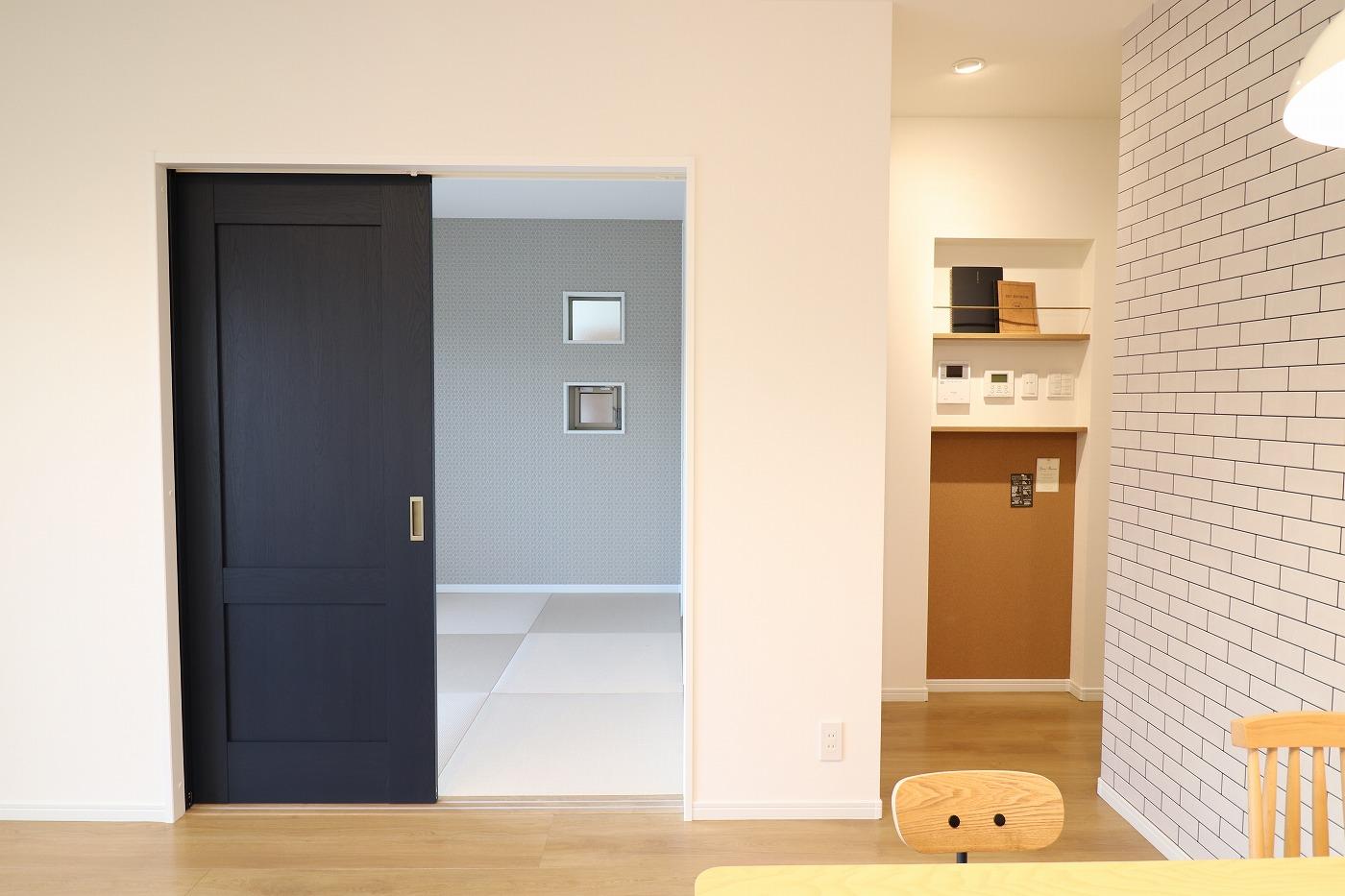 高松市木太町の新築分譲住宅のダイニング和室