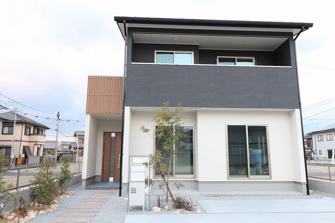 高松市木太町の新築分譲住宅の外観