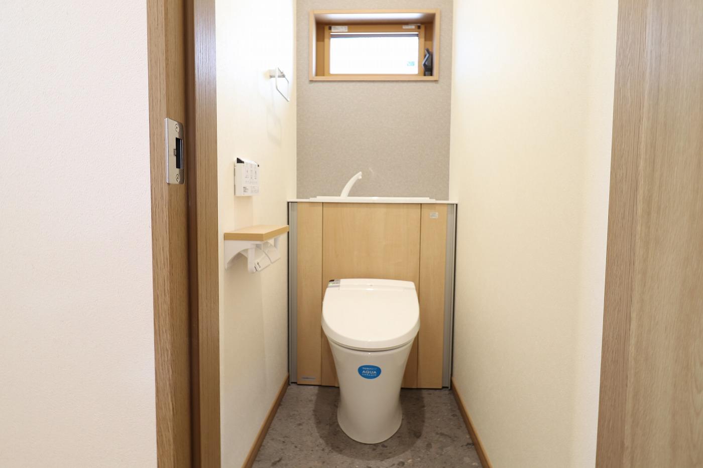 高松市木太町の新築分譲住宅のトイレ