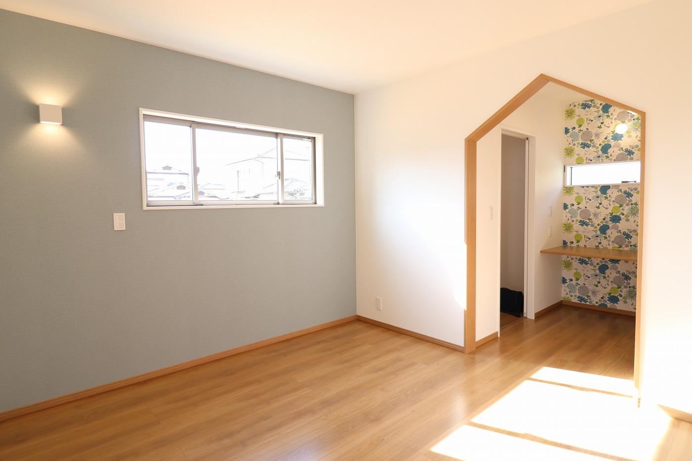 高松市下田井町の新築分譲住宅の寝室