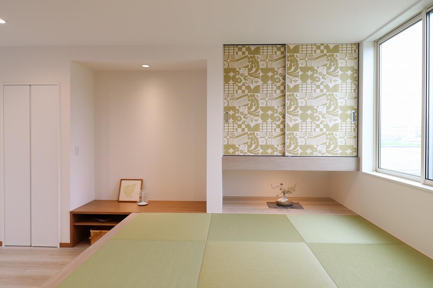高松市太田下町の新築分譲住宅の畳スペース