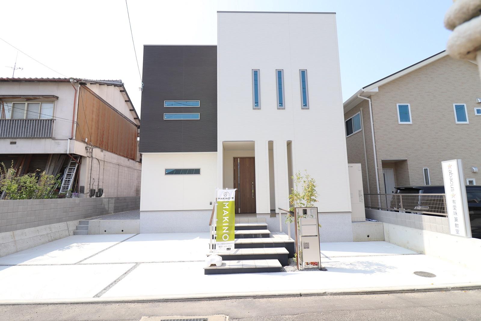 高松市太田上町の新築分譲住宅外観