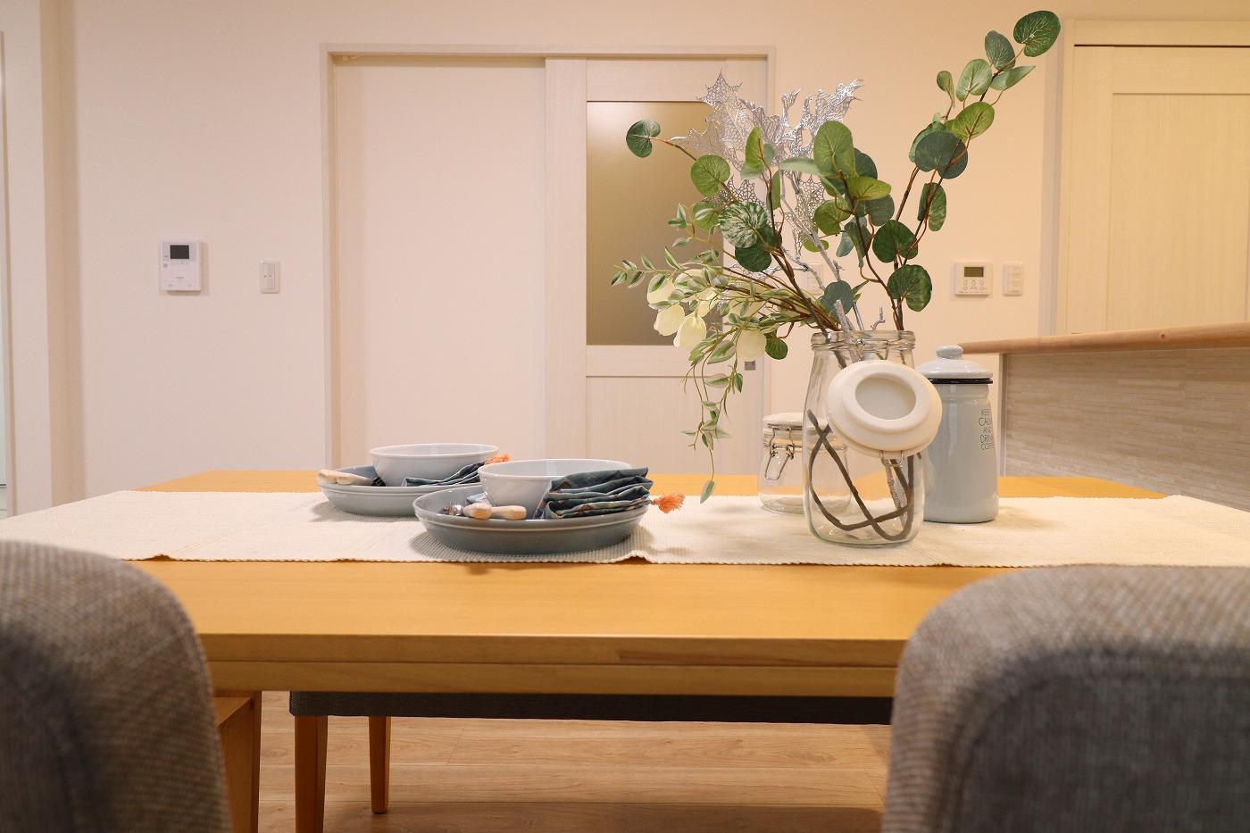 高松市木太町の新築建売住宅のディスプレイ