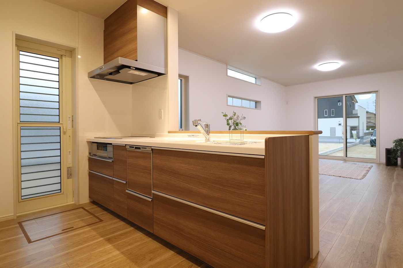 高松市木太町の新築建売住宅のキッチン