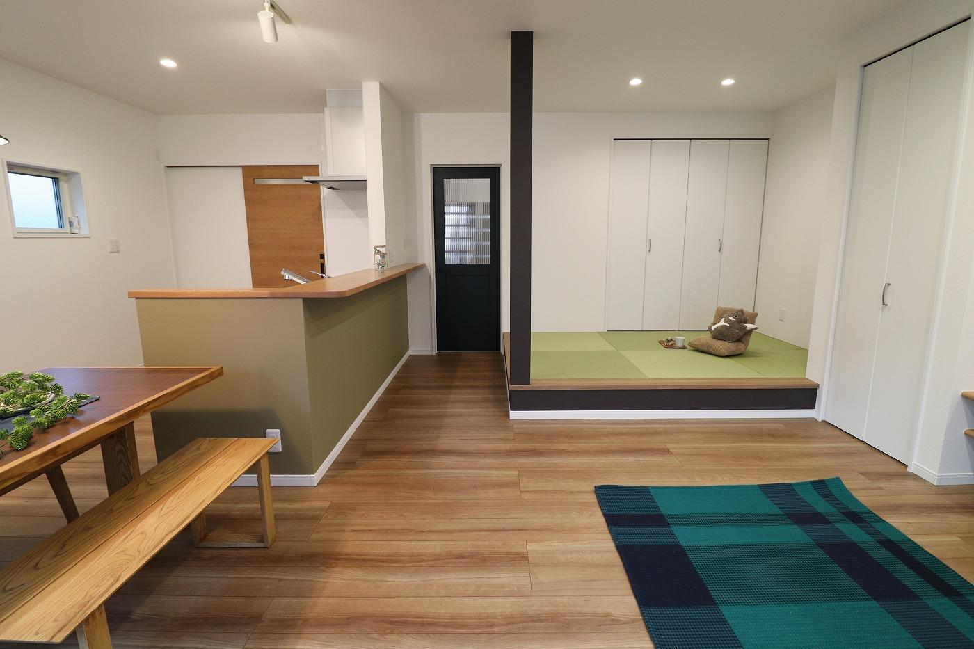 高松市高松町の新築分譲住宅のLDK畳