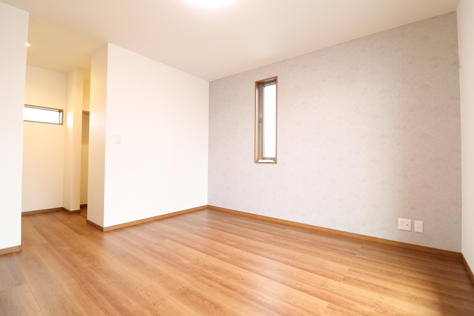 高松市林町の新築分譲住宅の寝室