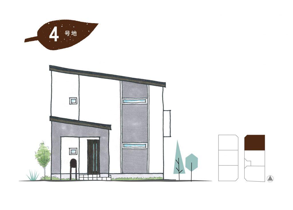高松市上林町の新築分譲住宅