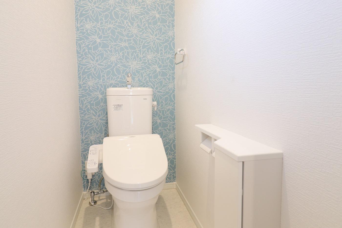 高松市木太町新築分譲建売住宅のトイレ