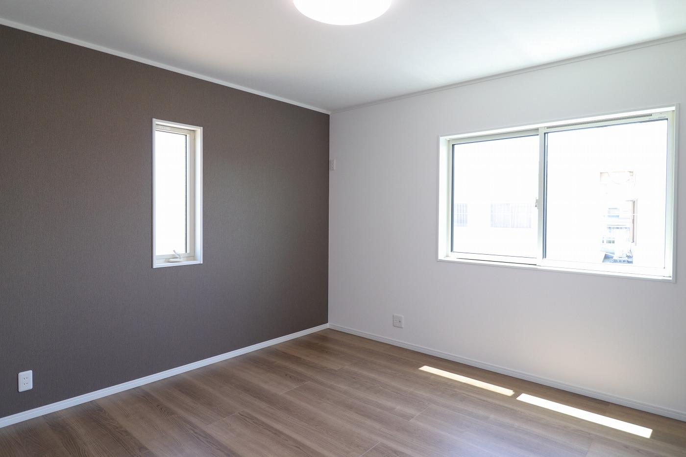高松市木太町新築分譲建売住宅の寝室