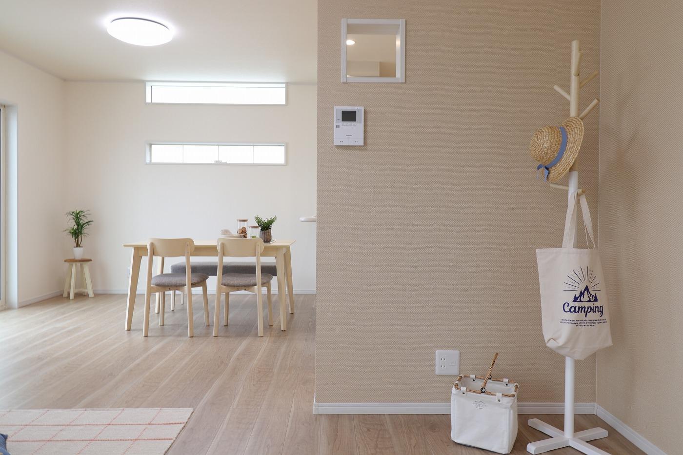 高松市六条町の新築分譲住宅のリビング家具