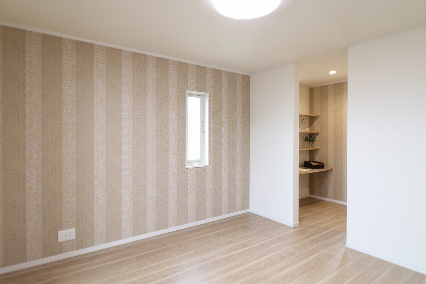 高松市六条町の新築分譲住宅の寝室
